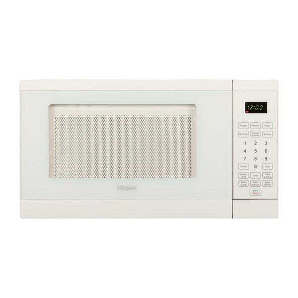 Haier Countertop Microwave : Haier 0.7 Cu. Ft. 700W Microwave White - Free Shipping Today ...