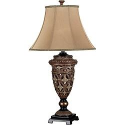 Oliver 35-inch Golden Bronze Table Lamp