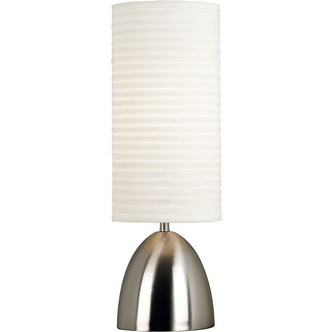 Ellsworth 30-inch Brushed Steel Table Lamp