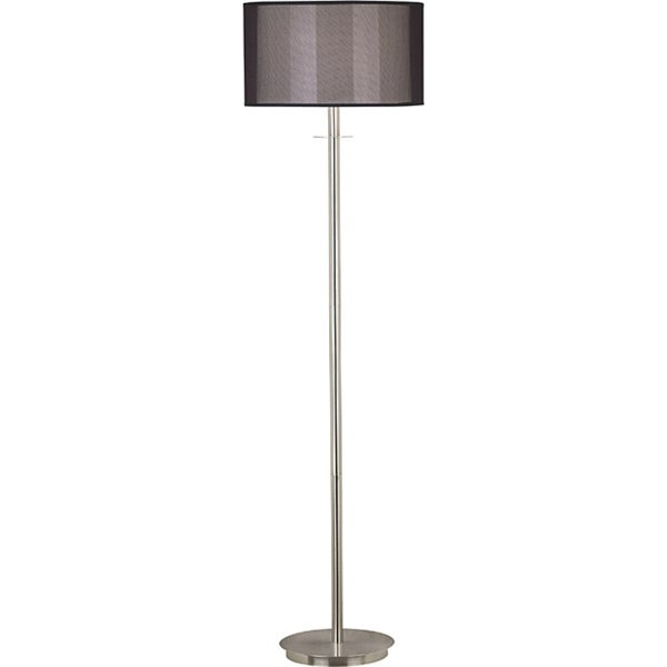 Marbon 58-inch Brushed Steel Finish Floor Lamp
