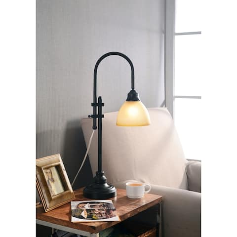 Copper Grove Kinver 28-inch Bronze Heritage Finish Desk Lamp