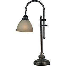 Burton 28-inch Bronze Heritage Finish Desk Lamp