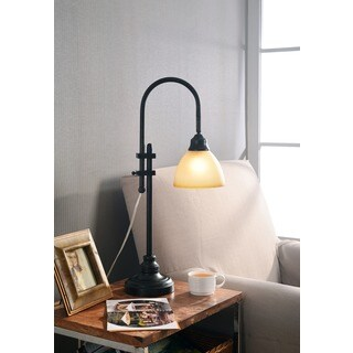 Copper Grove Kentenia 28-inch Bronze Heritage Finish Desk Lamp