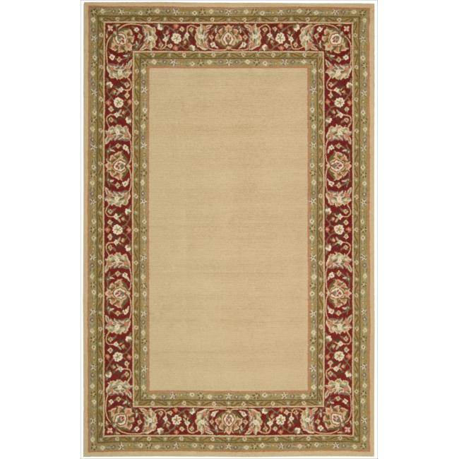 Nourison Hand-hooked Gold Country Heritage Rug (1'9 x 2'9)
