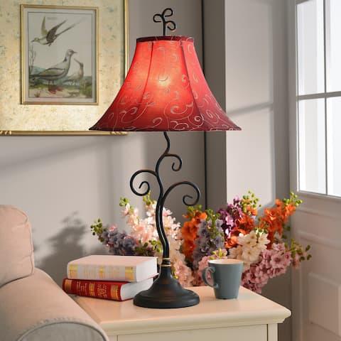 "Ramone 30-inch Bronze Table Lamp - 30""H"