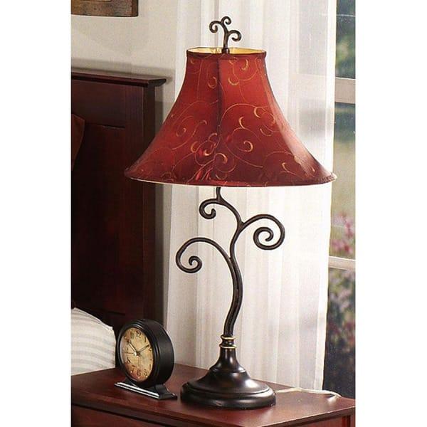 Ramone 30 Inch Bronze Table Lamp 30 H Overstock 6610292