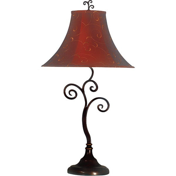 Ramone 30 Inch Bronze Table Lamp