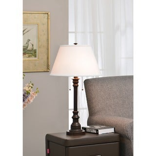 Design Craft Davies 31-inch Bronze Table Lamp