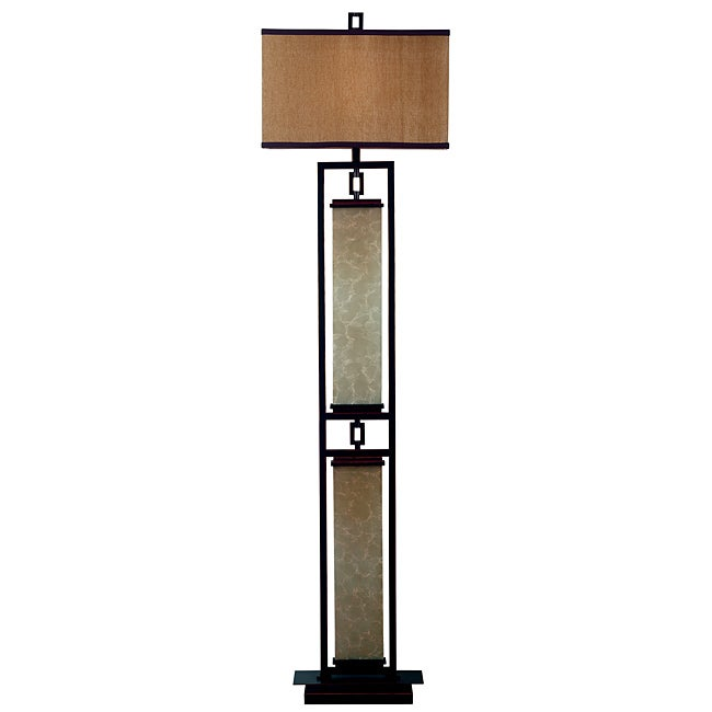Abriella 61 inch oil rubbed bronze floor lamp free for Overstock bronze floor lamp