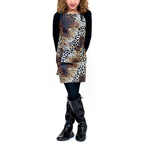 Tango Leopard Stain Resistant Child Apron