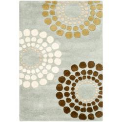 Safavieh Handmade Soho Celeste Blue New Zealand Wool Rug (2' x 3')