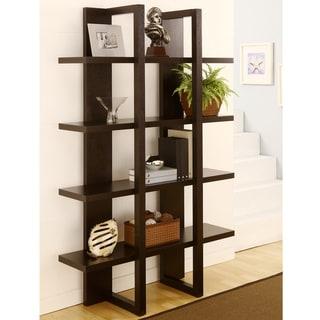 Furniture of America Ellise 4-shelf Display Stand/ Storage Cabinet