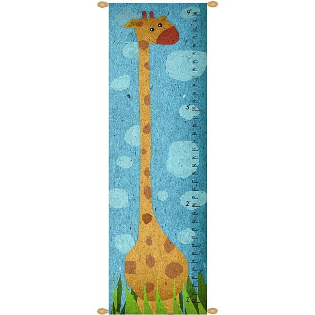 Ankan 'Giraffe' Canvas Wall Hanging