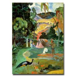 Paul Gauguin 'Matamoe' Large Canvas Art