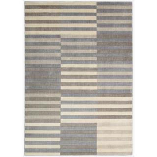 Nourison Utopia Light Multi Abstract Rug (5'3 x 7'5)