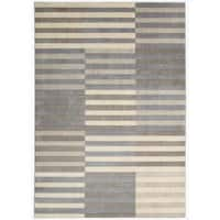 Nourison Utopia Light Multi Abstract Rug (5'3 x 7'5) - 5'3 x 7'5