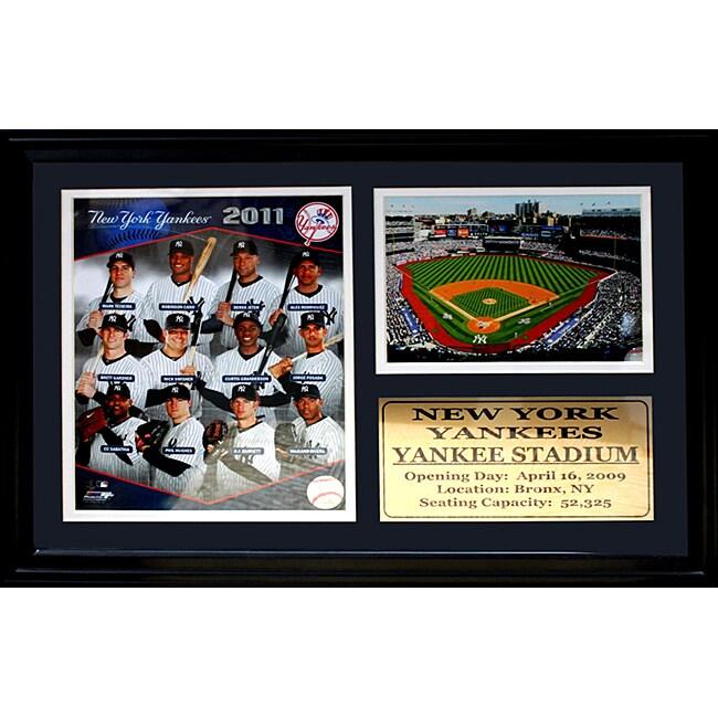 New York Yankees 2011 Photo / Field Stat Frame