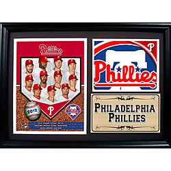 Philadelphia Phillies 2012 Photo Stat Frame