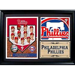Philadelphia Phillies 2012 Photo Stat Frame