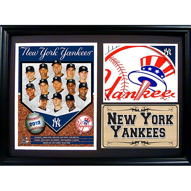 New York Yankees 2012 Photo Stat Frame