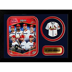 St. Louis Cardinals 2011 Mini-Jersey Frame