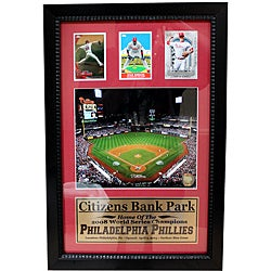 Philadelphia Phillies Citizens Bank Park 3-card Frame