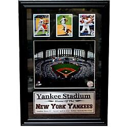 New York Yankees Yankee Stadium 3-card Frame