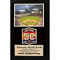 Houston Astros '50th Anniversary' Double Patch Frame