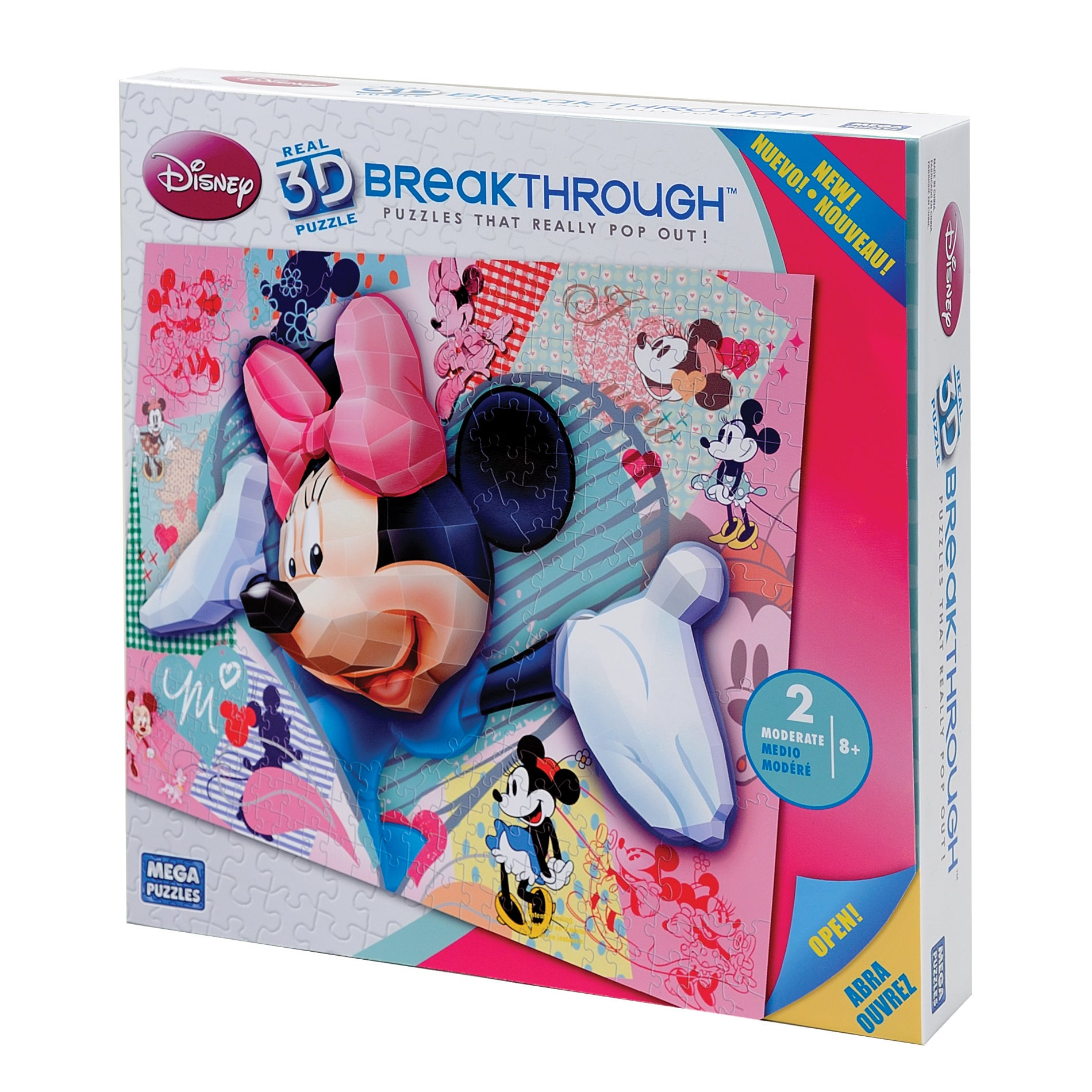 Mega Bloks Disney Minnie 200-piece Puzzle