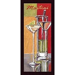 Zoya Trofimova 'Martini' Framed Print
