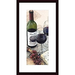 Tracey Renee 'Sampling the Private Reserve' Framed Print