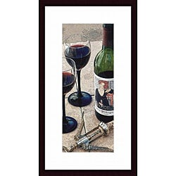Tracey Renee 'Mademoiselles Cabernet' Framed Print