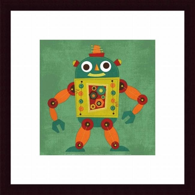 Nancy Lee 'Robot 1' Framed Print