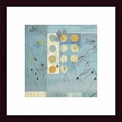Fernando Leal 'Flower Dance II' Framed Print