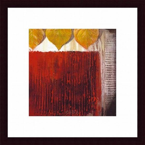 Sandy Clark 'Rhythm Quartet IV' Framed Print