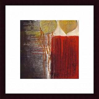 Sandy Clark 'Rhythm Quartet III' Framed Print