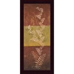 Jodi Reeb-Myers 'Winding Ferns I' Framed Print