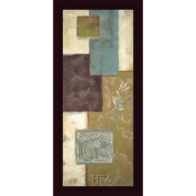 Jodi Reeb-Myers 'Springhill Overylay I' Framed Print