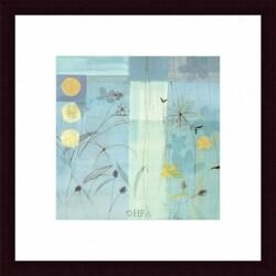Fernando Leal 'Flower Dance IV' Framed Print