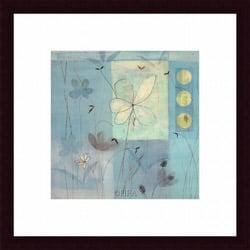 Fernando Leal 'Flower Dance III' Framed Print