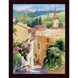 Karen McLean-McGaw 'French Vineyards' Framed Print