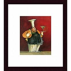 Jennifer Garant 'Martini For You' Framed Print Art