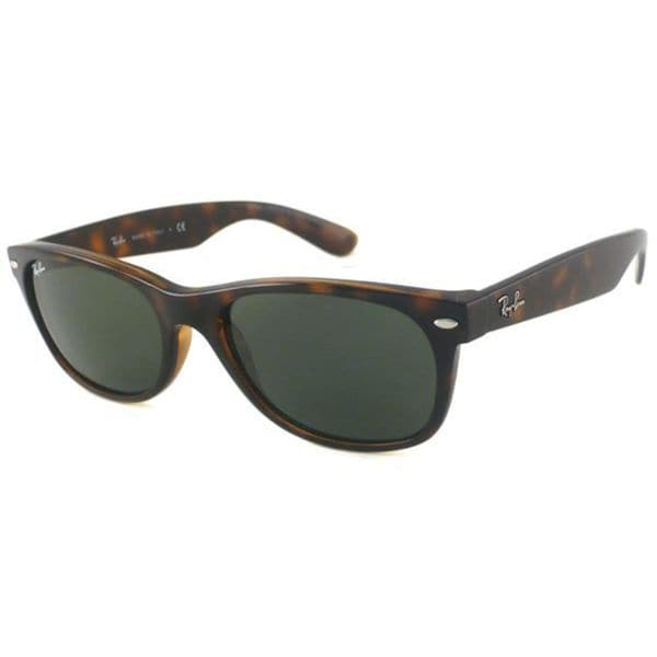 ray ban glasses havana  ray ban new wayfarer rb2132 unisex havana frame green lens sunglasses