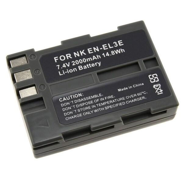 INSTEN Battery for Nikon ENEL3e/ EN-EL3e/ D90/ D50/ D70/ D100 (Pack of 2)