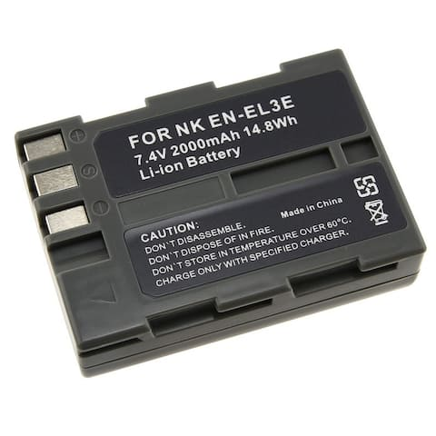 INSTEN Battery for Nikon ENEL3e/ EN-EL3e/ D90/ D50/ D70/ D100 (Pack of 2)