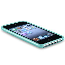 INSTEN Frost Light Blue TPU iPod Case Cover for Apple iPod Touch Generation 4 - Thumbnail 2