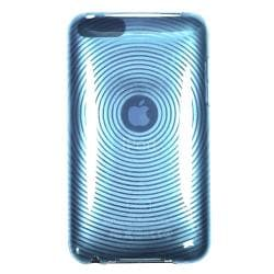 Thumbnail 2, INSTEN Clear Blue Circle TPU iPod Case Cover for Apple iPod Touch Generation 2/ 3. Changes active main hero.