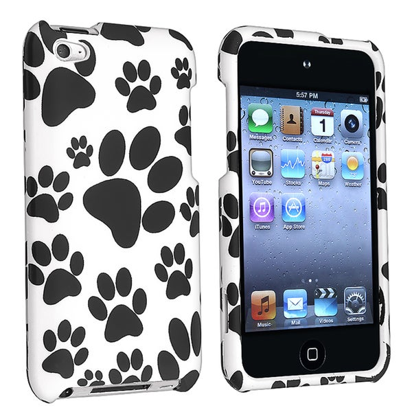 INSTEN Snap-on Rubber Coated iPod Case Cover for Apple iPod Touch 4th Generation