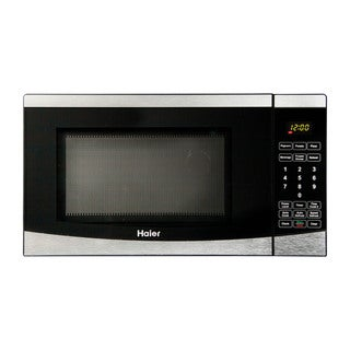 Haier 0.7 Cu. Ft. 700W Microwave Stainless Steel