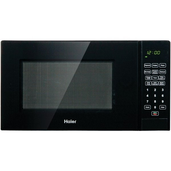 Haier 0 9 Cu Ft 900w Microwave Black Free Shipping